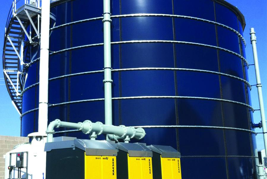 kaeser, wastewater, treatment plant, webinar, water and wastes digest, w&wd