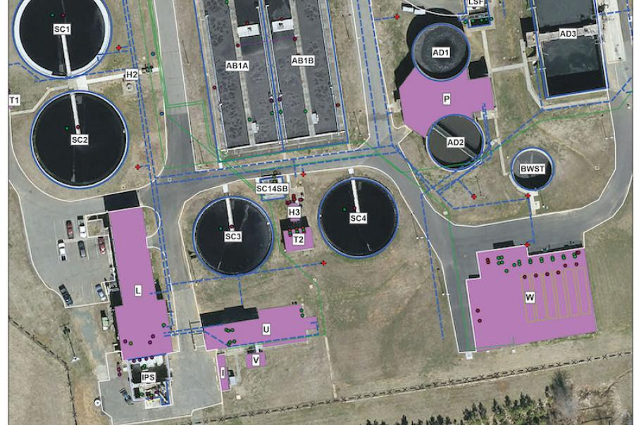 Combining gap analysis with GIS for asset management correlates data points for operators to see the status of their assets during their period of use.