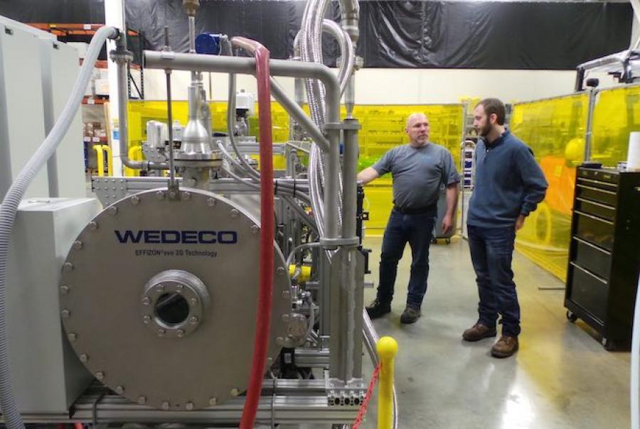 Xylem ships first ozone system