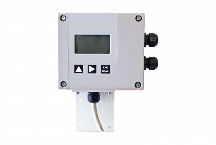 Open Channel Flowmeter Measures Level, Flow Rate & Volume