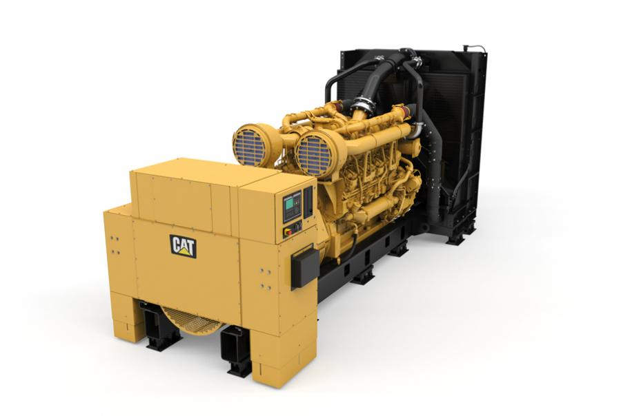 Diesel Generator Set Offers Fuel Economy & Small Footprint