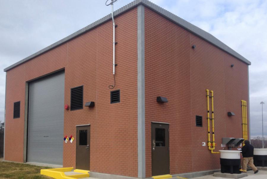 precast concrete building