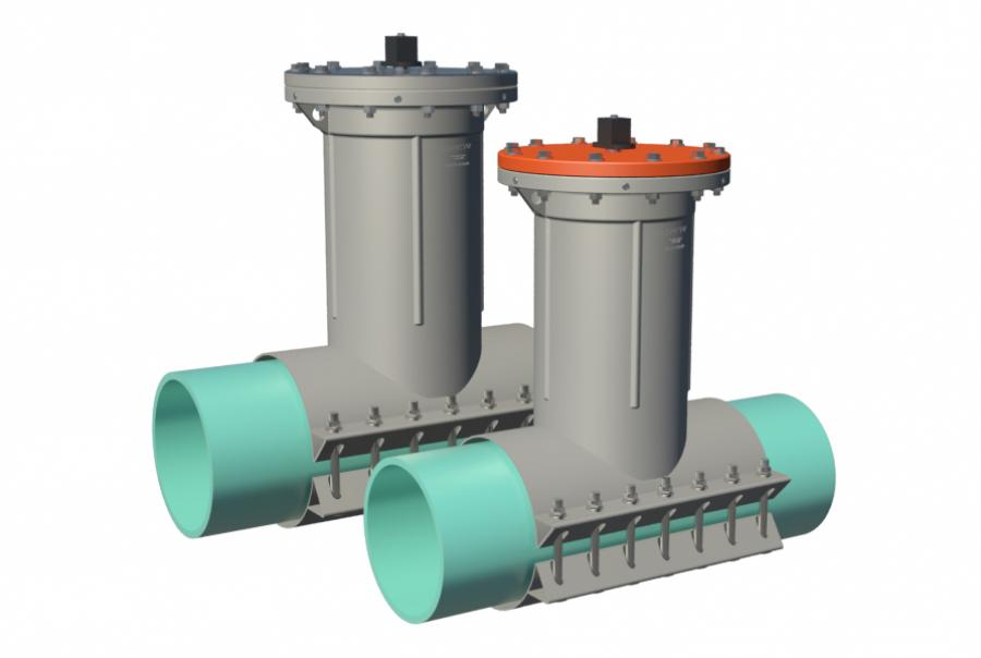 Insertion Valves Can Be Installed on a Variety of Pipe Types