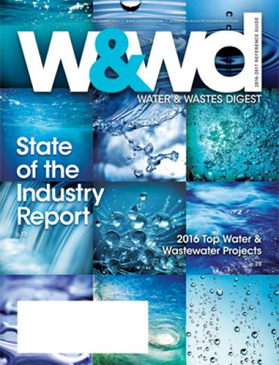 water and wastes digest, w&wd, wwd, november, 2016, current issue, magazine