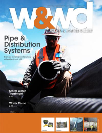 wwd, 2017, march, issue, current, magazine, water and wastes digest