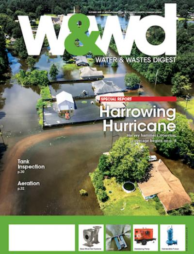 October 2017 issue of Water & Wastes Digest magazine.